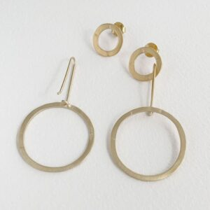 Aretes Day into Night XL Earrings gold