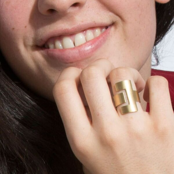 CE Ring Gold Lady