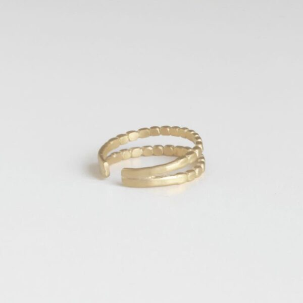 Camu Double Ring Gold