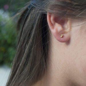 Camu Mini Earrings Gold Lady