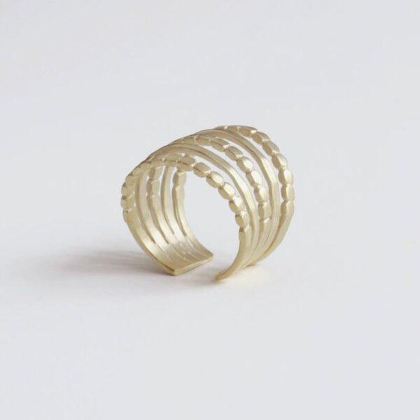 Camu Five Ring Gold