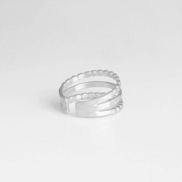 Camu Triple Ring Silver