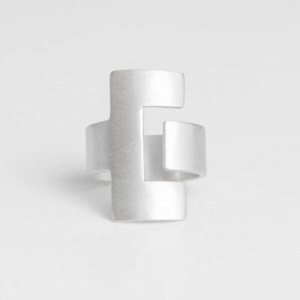 Ce Ring Silver