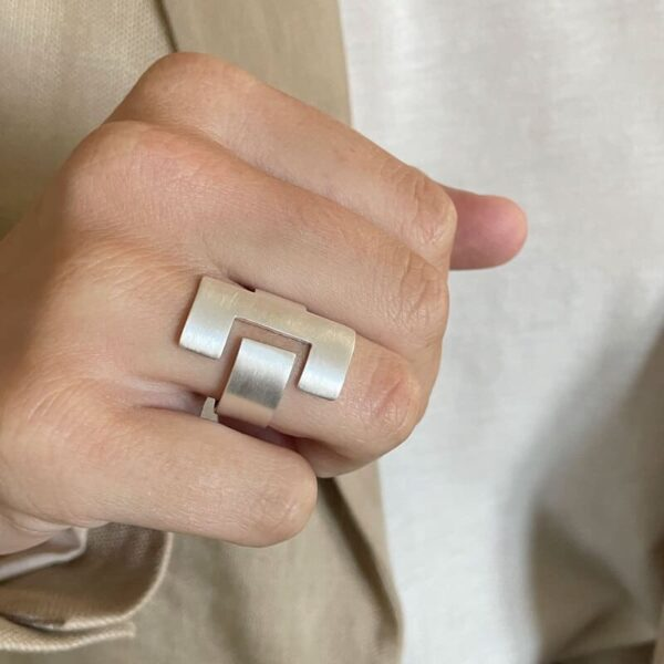 Ce Ring Silver Lady