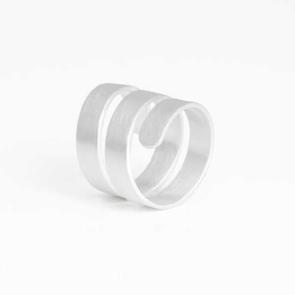 Claudia Ring Silver