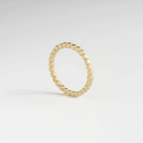 Flat Misha Ring Gold