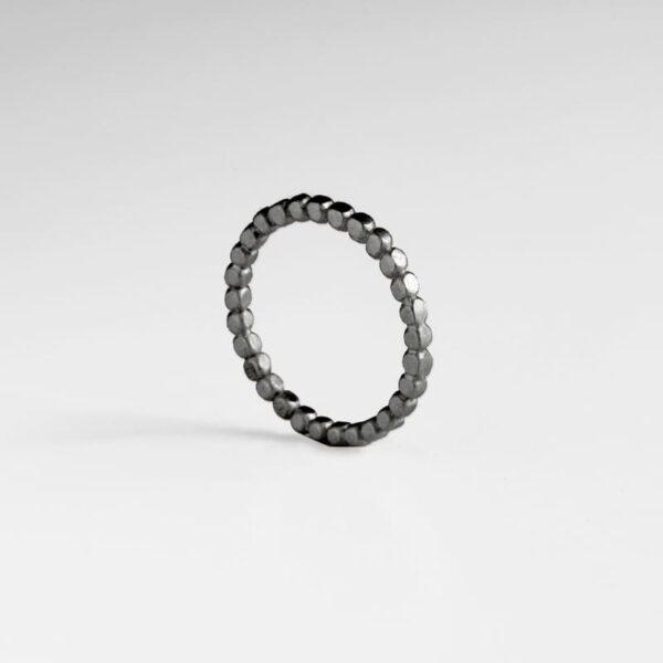 Flat Misha Ring Ruthenium