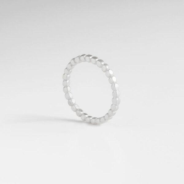 Flat Misha Ring Silver