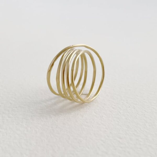 Gala Five Ring Gold
