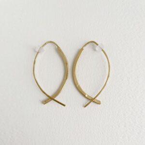 Gala M Hoop Earrings gold