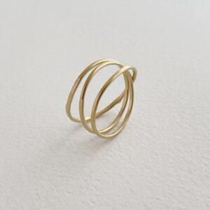 Gala Triple Ring Gold