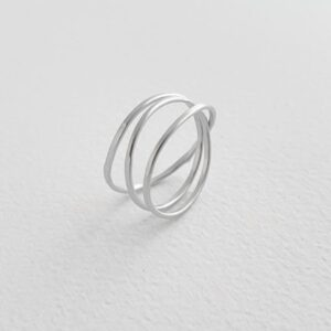 Gala Triple Ring Silver