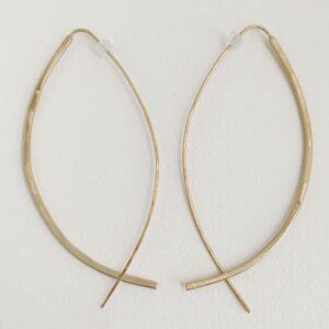 Gala Xl Hoop Earrings gold