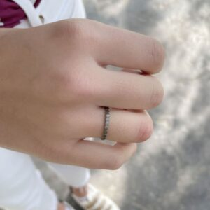 Half Flat Ring Ruthenium lady