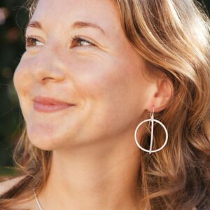Kam Around m Earrings silver lady