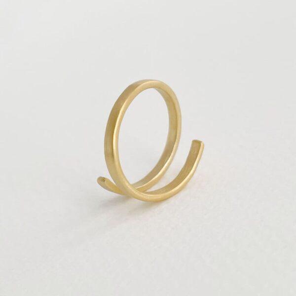 Kam Open Ring Gold