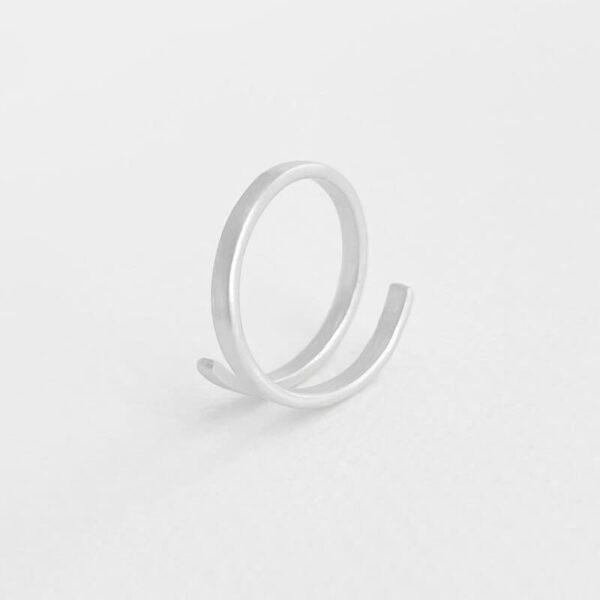Kam Open Ring Silver