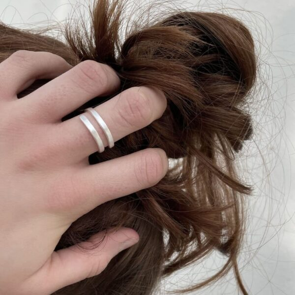 Kam Open Ring Silver Lady