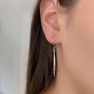 Kam Pendant earrings silver lady