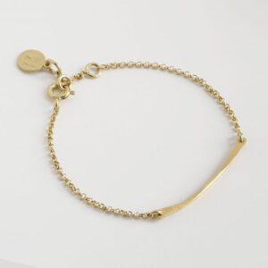 Kam Thin stick bracelet gold