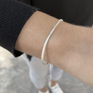 Kam Twice silver bracelet lady