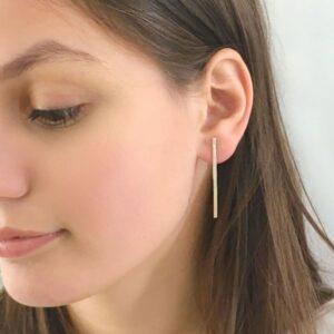 Kam XL Earrings silver lady