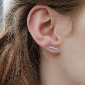 Kam in Earrings silver lady