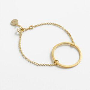 La Cala L Circle Bracelet Gold
