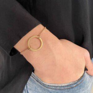 La Cala M Circle Bracelet gold Lady