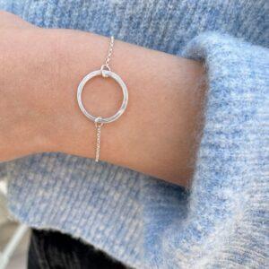 La Cala M Circle Bracelet silver Lady