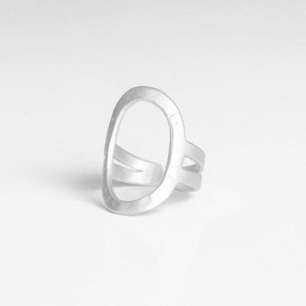 La Cala Oval Ring Silver