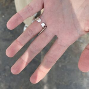 La Cala Oval Ring Silver Lady