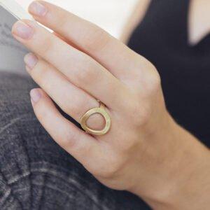 La Cala Ring Gold Lady