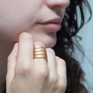 Los Cala Ring Gold Lady