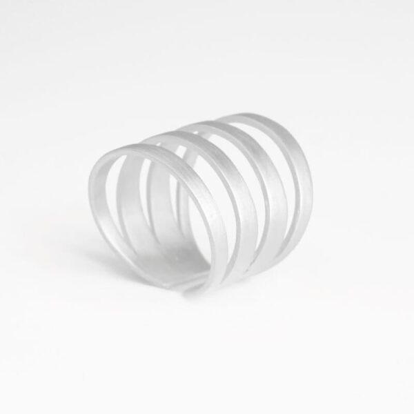 Los Cala Ring Silver