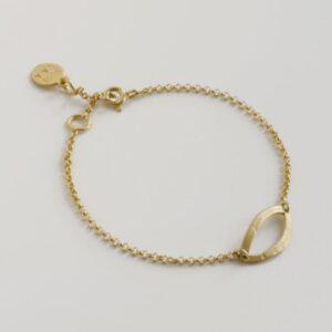 Maria M Bracelet Gold