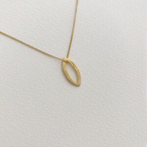 Maria M pendant gold