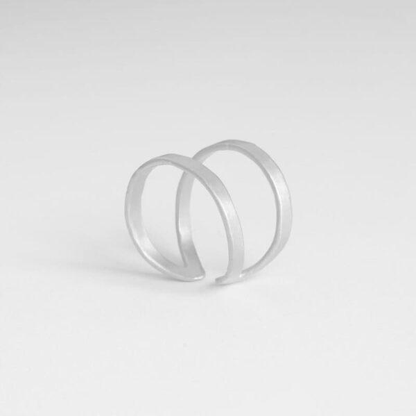 Maria Open Ring Silver