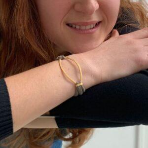 Maria Sandra XL Bracelet Gold lady