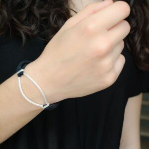 Maria Sandra XL Bracelet Silver lady