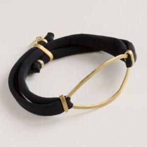 Maria Sandra XL bracelet Gold
