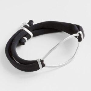 Maria Sandra XL bracelet Silver