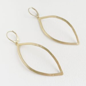 Maria XL Hippies Earrings Gold