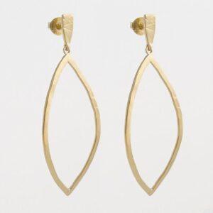 Maria XL Pendant Earrings gold