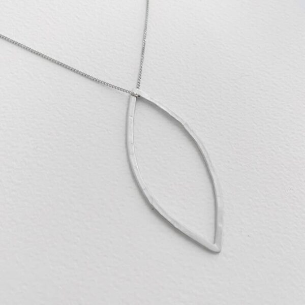 Maria double pendant silver