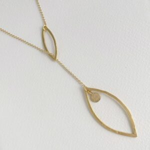 Maria long necklace gold