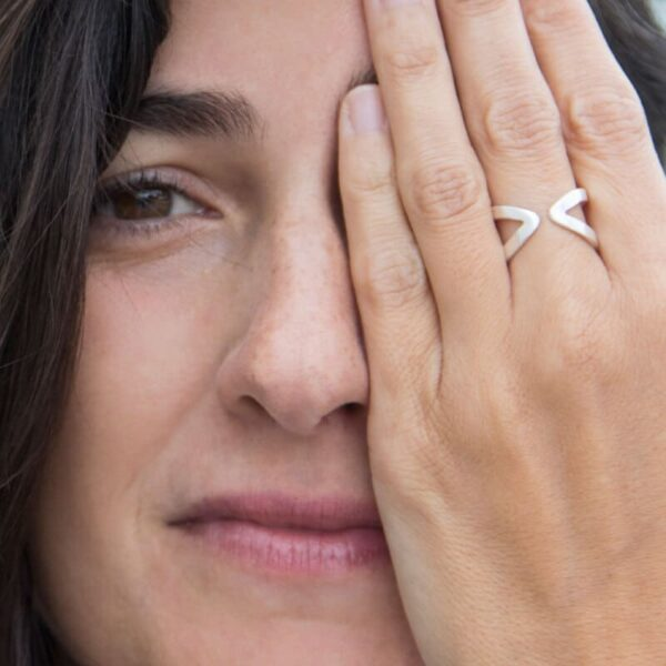 Maria open Ring Silver Lady