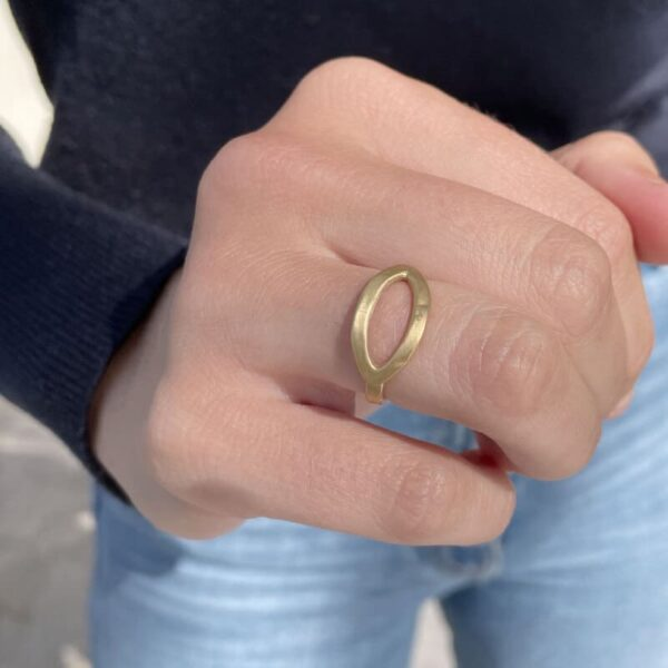 Maria thin Ring Gold Lady