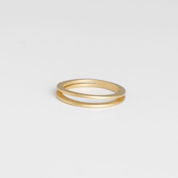 Mir Double Ring Gold
