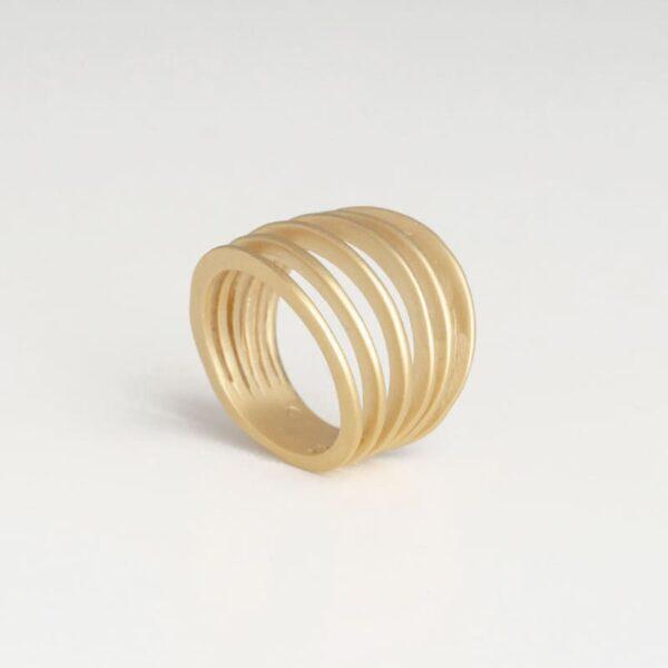 Mir Six Ring Gold